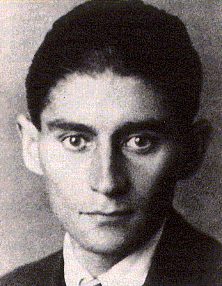 Photo of Franz Kafka as a young man